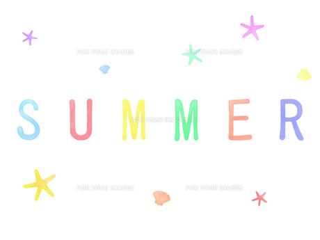 summerの素材 [FYI00204649]