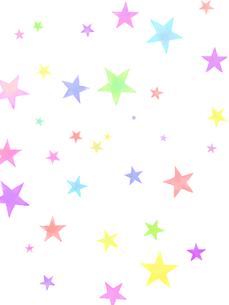 カラフルスターの写真素材 [FYI00204652]