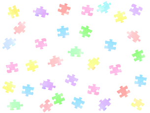 パズルのピースの写真素材 [FYI00204668]