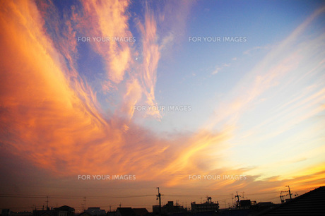 夕日の写真素材 [FYI00204687]