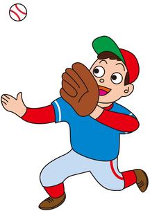 野球の守備_フライの写真素材 [FYI00205233]