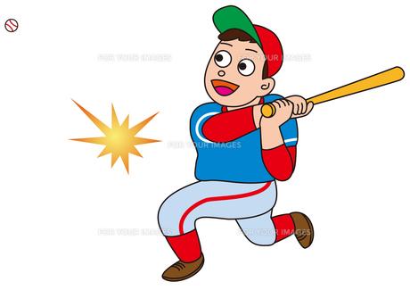 野球のバッターの写真素材 [FYI00205238]