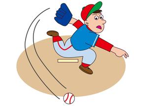 野球のピッチャーの素材 [FYI00205246]