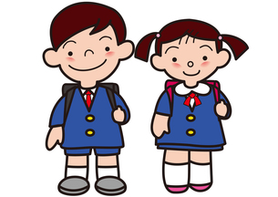 かわいい小学校の写真素材 [FYI00205337]