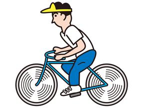 サイクリングの写真素材 [FYI00205414]