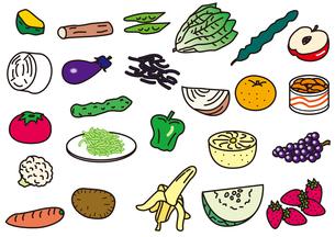 食材_野菜・果物類の写真素材 [FYI00205435]