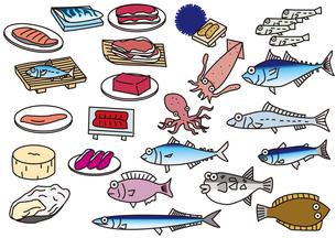 食材_魚介類の写真素材 [FYI00205437]
