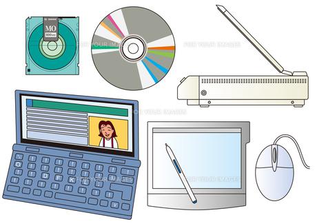 パソコン周辺用品の写真素材 [FYI00205614]