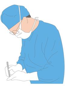 手術する医者の写真素材 [FYI00205616]