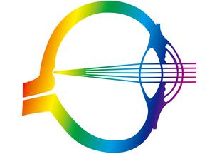 眼の構造デザインの写真素材 [FYI00205627]