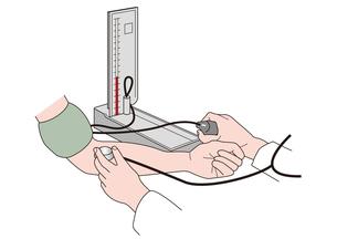 血圧測定の写真素材 [FYI00205648]
