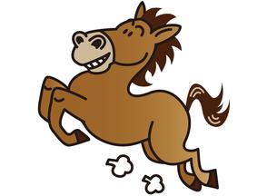 走る馬の写真素材 [FYI00205658]