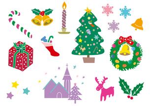 クリスマスいっぱいの写真素材 [FYI00205677]