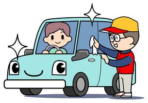 ガソリンスタンド 洗車の写真素材 [FYI00205867]