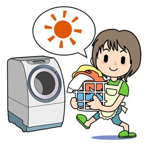 家事 洗濯の写真素材 [FYI00205893]