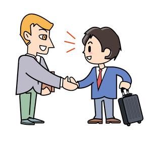 海外出張 交渉の写真素材 [FYI00205960]