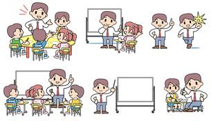 学習塾 セットの写真素材 [FYI00205963]