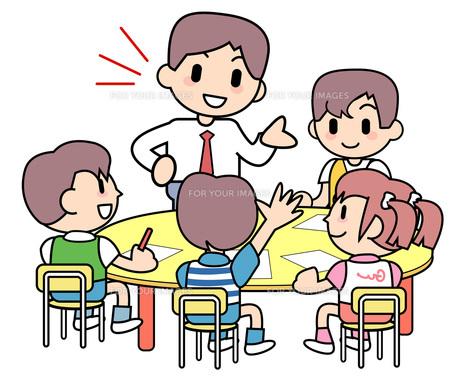 学習塾 少人数クラス2の写真素材 [FYI00205965]