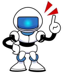 ロボット 指差しの写真素材 [FYI00206005]