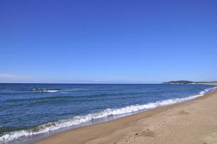 静かな渚の写真素材 [FYI00206094]
