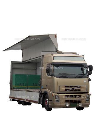 トラックウイング車の写真素材 [FYI00206117]