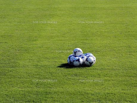 サッカーボールの素材 [FYI00206124]