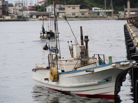 漁船の写真素材 [FYI00206126]