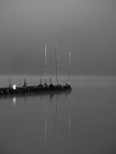 浮桟橋の写真素材 [FYI00206145]
