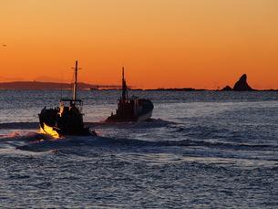 漁船の写真素材 [FYI00206156]