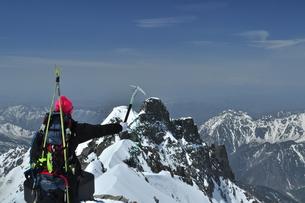 山スキーの写真素材 [FYI00206174]