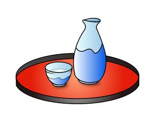 日本酒セットの写真素材 [FYI00206197]