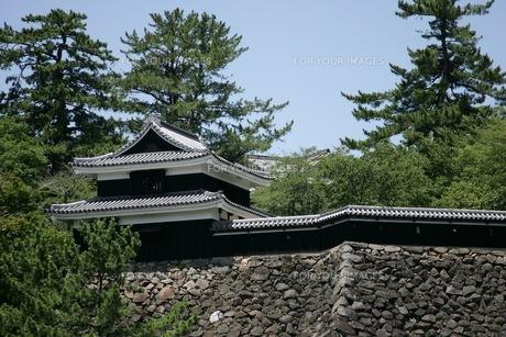 松江城の櫓の素材 [FYI00206202]