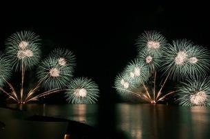 松江水郷祭湖上花火大会の素材 [FYI00206215]