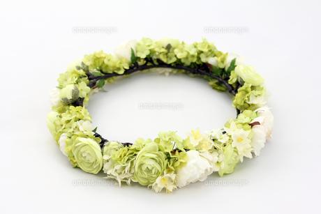 花飾り ヘッドリースの写真素材 [FYI00206229]