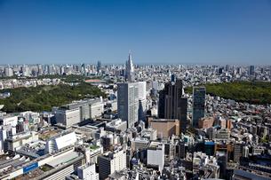 新宿の街並みの写真素材 [FYI00206253]
