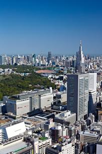 新宿の街並みの写真素材 [FYI00206268]