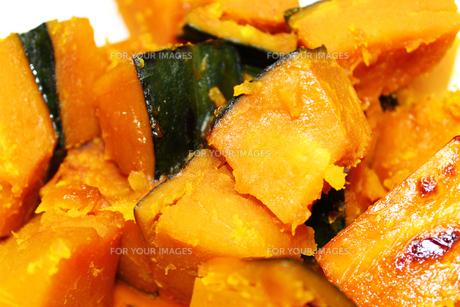 かぼちゃの煮付けの写真素材 [FYI00206388]