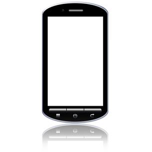 スマートフォンの写真素材 [FYI00206549]