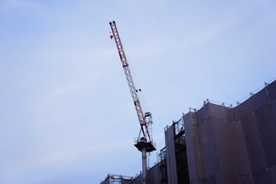 建設現場の機械の写真素材 [FYI00206755]