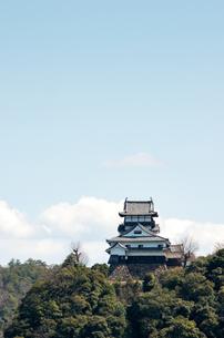 国宝・犬山城-004の写真素材 [FYI00206839]