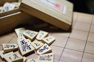 将棋の駒の写真素材 [FYI00206891]