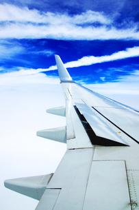 飛行機に乗っての写真素材 [FYI00206954]