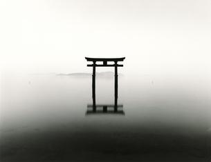琵琶湖白髭神社の写真素材 [FYI00207021]