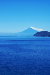 駿河湾と富士山の写真素材 [FYI00207047]