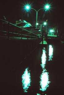 夜のマリーナの写真素材 [FYI00207063]