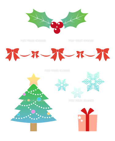 クリスマス アイコンの写真素材 [FYI00207113]
