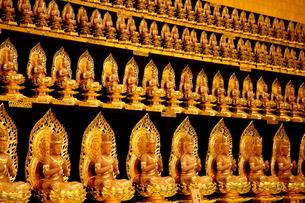 金色の仏像の写真素材 [FYI00207121]