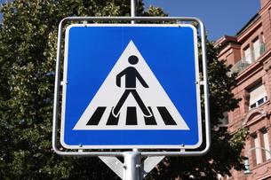 ドイツの横断歩道の写真素材 [FYI00207122]