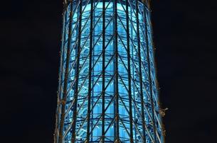 夜のスカイツリーの写真素材 [FYI00207389]