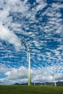ラベンショーの風力発電の写真素材 [FYI00207546]